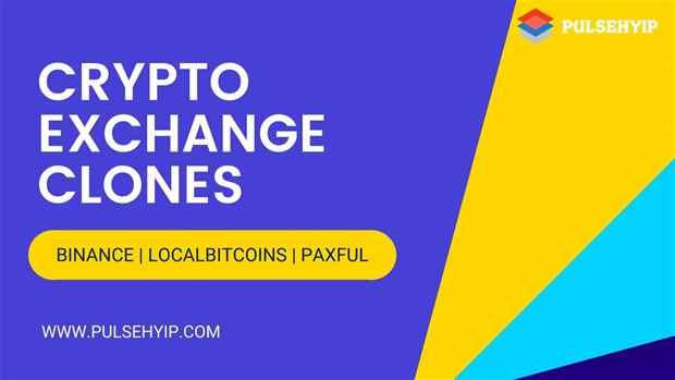 Top Cryptocurrency Exchange Clone like Localbitcoins, Binance - Pulsehyip